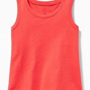 Old Navy Coral Jersey Tank Top
